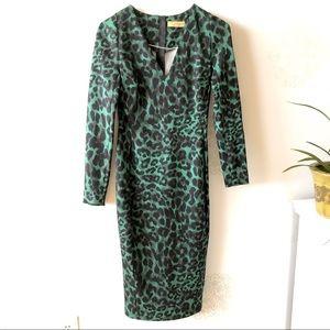 Italian leopard dress